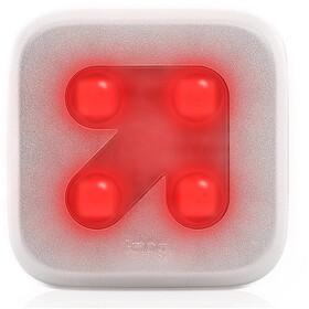 Knog Blinder Rear Light 4 red LED, Arrow, silver